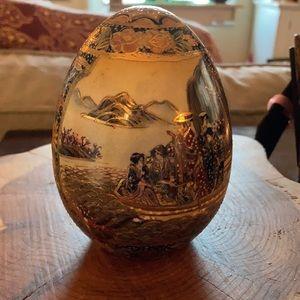 Antique Satsuma Egg